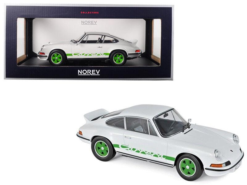 1   18 norev porsche 911 carrera rs touring mit grün - weißen 187636 räder druckguss