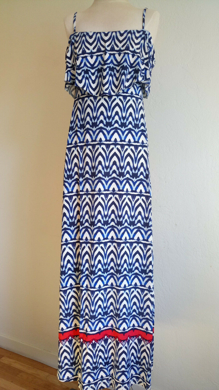 NWT Tacita Maxi dress, Size S, Africa Stripe