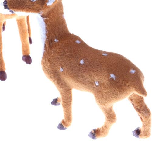 Christmas Simulation Plush Reindeer Xmas Elk Plush TOY New Year  DecorationsYJUS
