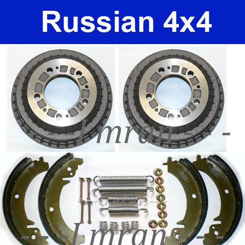 Bremsbacken Montage Lada Niva 2121 21214 Bremsenkit hinten Bremstrommel