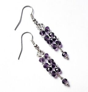 Purple-Crystal-Dangle-Earrings-Bridal-Earrings-Wedding-Jewelry-For-Her-Earrings