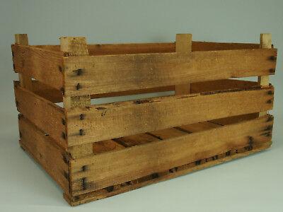 Stapelkiste Gemüsekiste FäHig Alte Lagerkiste Obstkiste Kiste Holzkiste