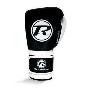 Ringside-pro-Entrenamiento-G1-Guantes-de-Boxeo-Negro-Patada-Combate-Muay-Thai