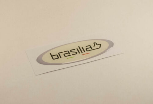 Brasilia Coffee Machine replacement 3D sticker