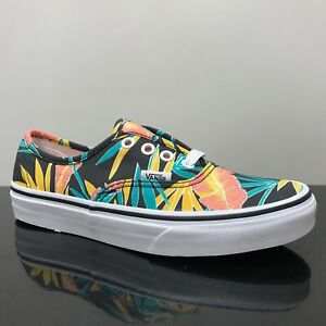 VANS-AUTHENTIC-TROPICAL-LEAVES-BLACK-TRAINERS