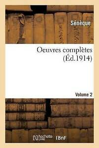 Oeuvres-completes-de-Seneque-le-Philosophe-Volume-2-Brand-New-Free-P-amp-P-in-t
