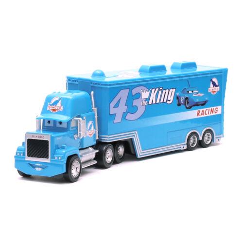Disney Pixar Cars No.43 King /& Dinoco Mack Hauler Truck 1:55 Diecast Toys Car