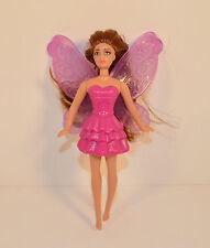 "2011 Carrie Purple Fairy 5"" McDonald's #5 Action Figure Barbie A Fairy Secret"