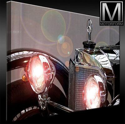 Auto & Motorrad: Teile Gelernt Mercedes Ssk Kompressor Leinwand Bild Canvas Art Kunstdruck Echtes Leinwandbild Poster & Bilder
