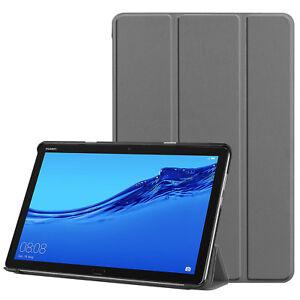 Smart-Cover-Per-Huawei-Mediapad-M5-Lite-Custodia-Protettiva-Clip-Slim-Borsa