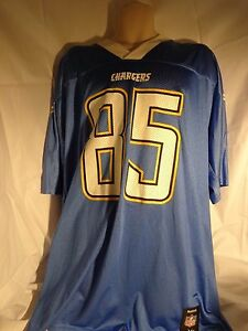 Image is loading Reebok-Premier-NFL-Jersey-Chargers-Antonio-Gates-Light- c2d2313a3