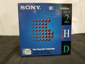 Sony-10-Pack-Micro-Floppy-Disk-Double-Sided-3-5-034-90mm-10-Diskettes-New-50-1