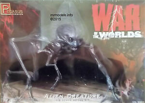 Pegasus-1-8-Alien-Creature-from-The-War-of-the-Worlds-New-Plastic-Model-Kit-9007