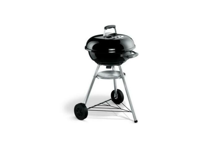 Weber Compact Kettle 57 cm Barbecue a Carbone – Nero Offerte e sconti