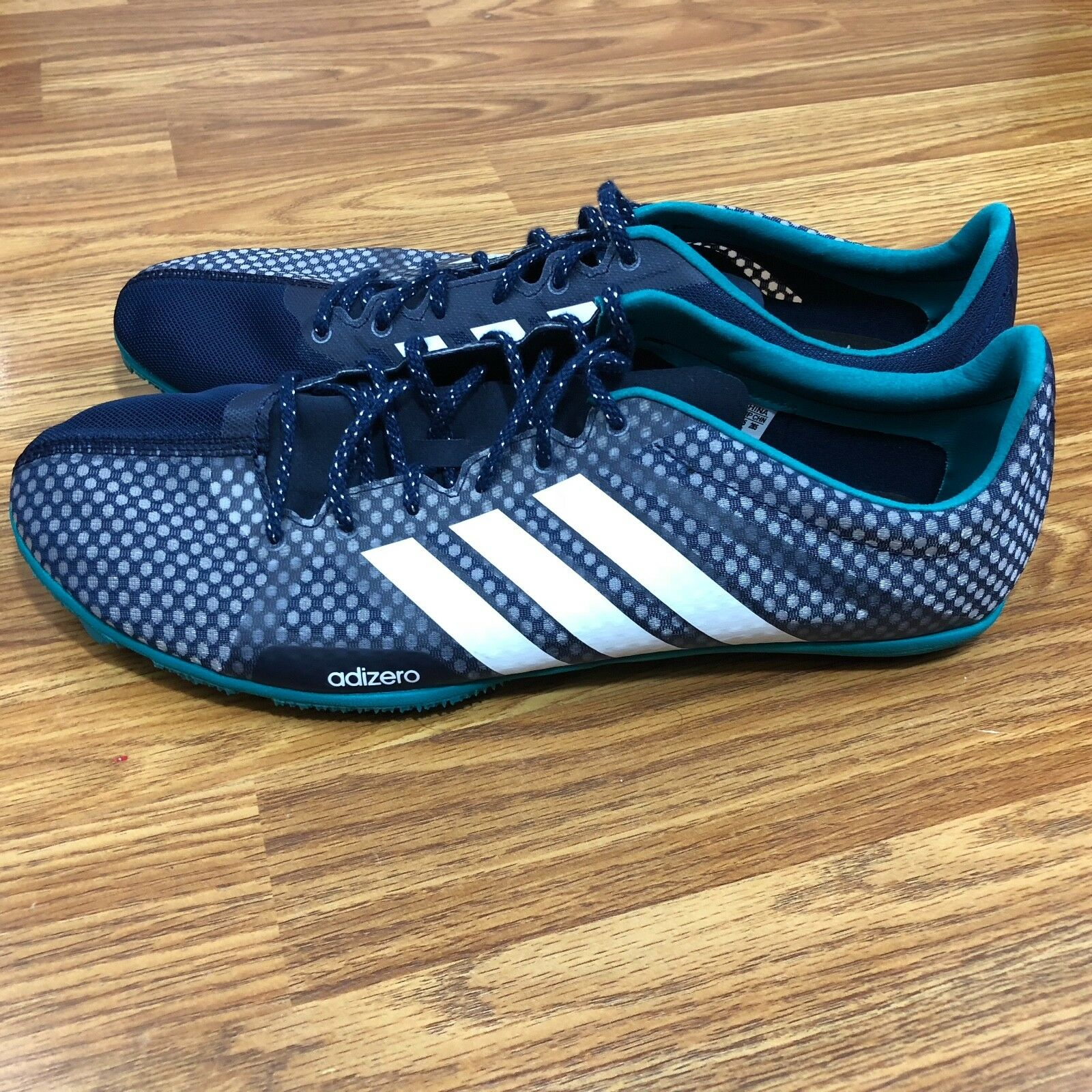 Adidas Adizero Ambition 3 Mens Running shoes AQ5592 Navy Without Spikes 11.5