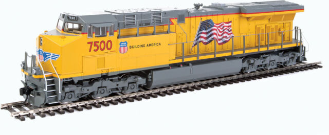 Walthers HO Scale GE GEVO (DCC/ESU Sound) Union Pacific/UP/Flag ES44AH #7500