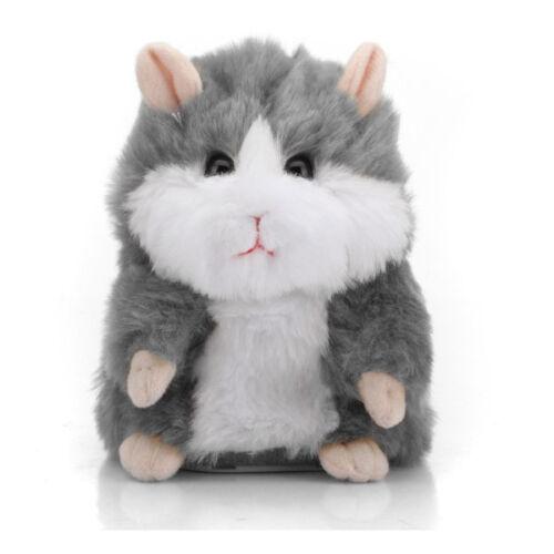 Cute Mimicry Pet Talking Hamster Speak Sound Record Stuffed Animal Electronic Ha