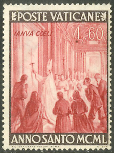 Vatican City #Mi170 Mint 1949 Anno Santo Pius XII Peter's Basilica [139]