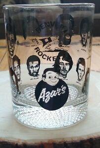 Vintage 1970s ABA Denver Rockets Basketball Team Azar's Big Boy Glass