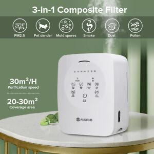 Luftreiniger Luftbefeuchter Allergie Echter HEPA-Kombifilter Rauch Air Purifier