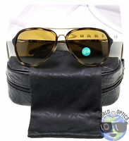 Oakley Women's Sunglasses Kickback Oo4102-02 Gold + Tortoise W/ Bronze Polarized