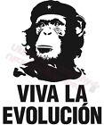 DIVERTIDO EVOLUTION CHIMPANCÉ GUEVARA CAMISETA HOMBRE tapas para 4XL 5XL