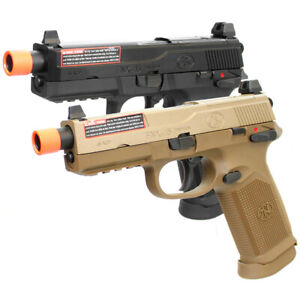 Cybergun Fn Herstal Fnx 45 Tactical Gas Blowback Airsoft Pistol By Vfc Ebay