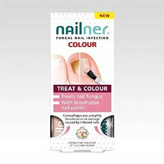 Nailner Treat & Colour 2x 5ml fungal nail infection Onychomycosis SAME DAY DISP