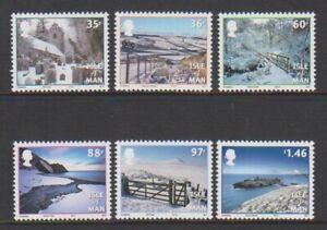 Isle-von-Mann-2010-Weihnachten-Lassen-es-Schnee-Set-MNH-Sg-1625-30