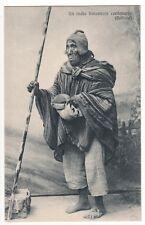 Bolivien Bolivia,armer Indio cholo indigena Aymara Quechua Ethnic type um 1915