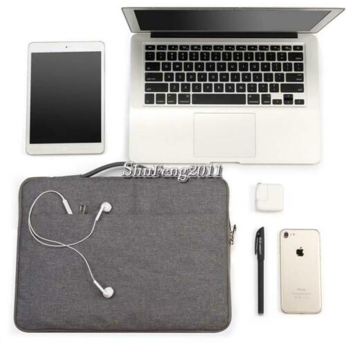 """Carry Laptop Sleeve Pouch Case Bag For Various 11.6/"""" 13.3/"""" 15.6/"""" Dell Inspiron"""
