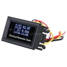 7-in-1 Voltage Current Meter Time Power Energy Capacity Temperature Tester Z5G9