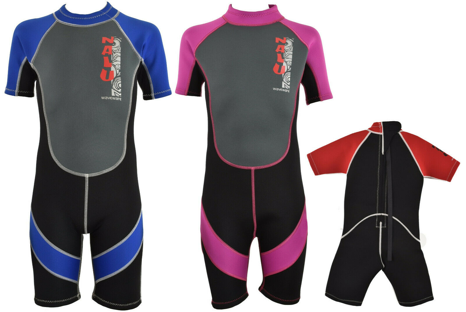 d58fe0e30f Kids Childrens Pink Nalu Wetsuit Size 24 Chest for sale online