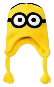 a46f7c80339a9f Image is loading DESPICABLE-ME-MINIONS-Reversible-Kids-Knit-Peruvian-Winter-