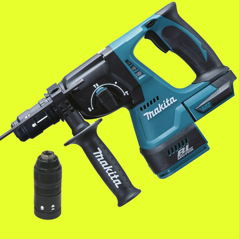 MAKITA Akku-Bohrhammer DHR243Z Solo im Karton mit Schnellwechselfutter 18 Volt