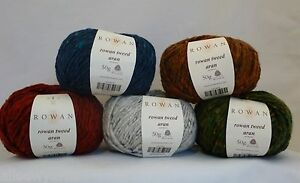 ROWAN-Tweed-Aran-x-50gm-100-Wool-Choose-colour