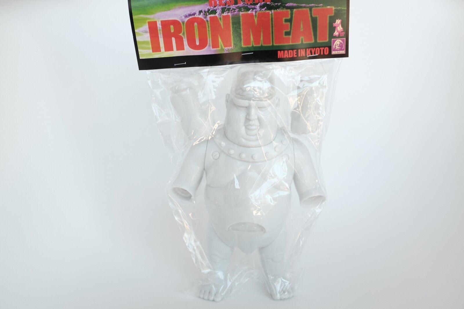 Restore Created Unpainted Blank Weiß Iron Meat POPSODA Japan Sofubi Vinyl
