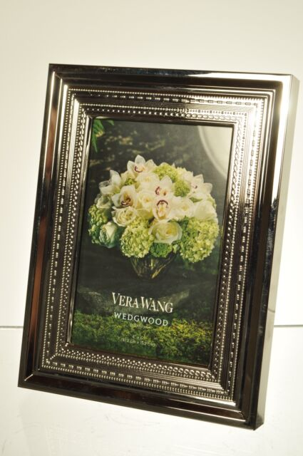 Vera Wang For Wedgwood With Love 4 X 6 Silver Plate Frame Ebay
