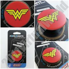 PopSockets Wonder Woman Phone Grip and Stand DC Justice League