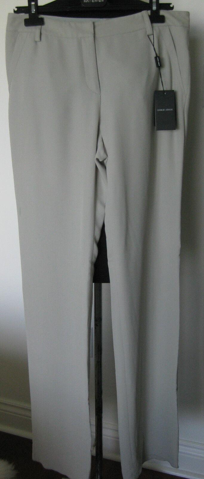 GIORGIO ARMANI made in  Wide Leg Trouser 8 NWT