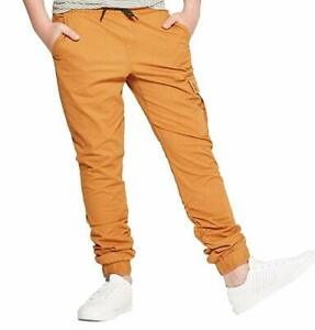 Art-Class-Boys-Rust-Heritage-Joggers-Pants-Draw-String-Med-8-10-NWT