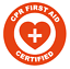 CPR-First-Aid-Certified-Emblem-Vinyl-Decal-Window-Sticker-Car thumbnail 3