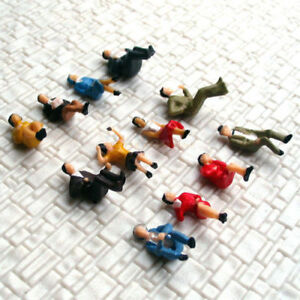 48-pcs-HO-scale-Model-Figure-Seated-People-all-sitting-passenger-Layout-Scenery