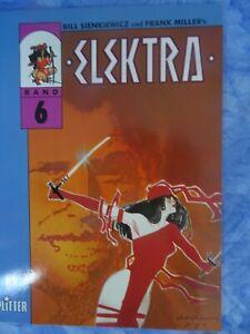 ELEKRA, Band 6 (BILL SIENKIEWICZ und FRANK MILLER:) Splitter Verlag
