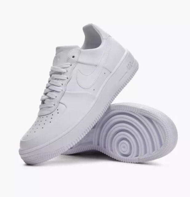 best service f285e 3e82b Nike Air Force 1 AF1 Ultraforce Lthr White 845052-100 Leather Mens Size 12.5