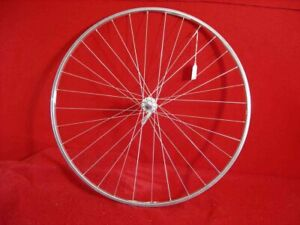 Campagnolo-Delta-Strada-XL-700c-Front-Wheel-Shimano-Hub-32-Tubular-Used