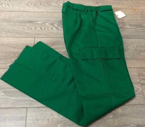 Ladies mid or dark green ambulance paramedic NHS hospital uniform work trousers