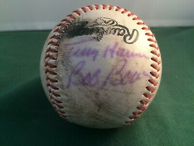 1980's Frank 2 Phillies Autographs On Baseball P1563 Save 50-70% Terry Harmon & Bob Boone