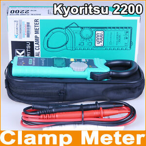 Kyoritsu-2200-AC-Digital-Clamp-Meter-AC-DC-1000A-Slim-Handy-design