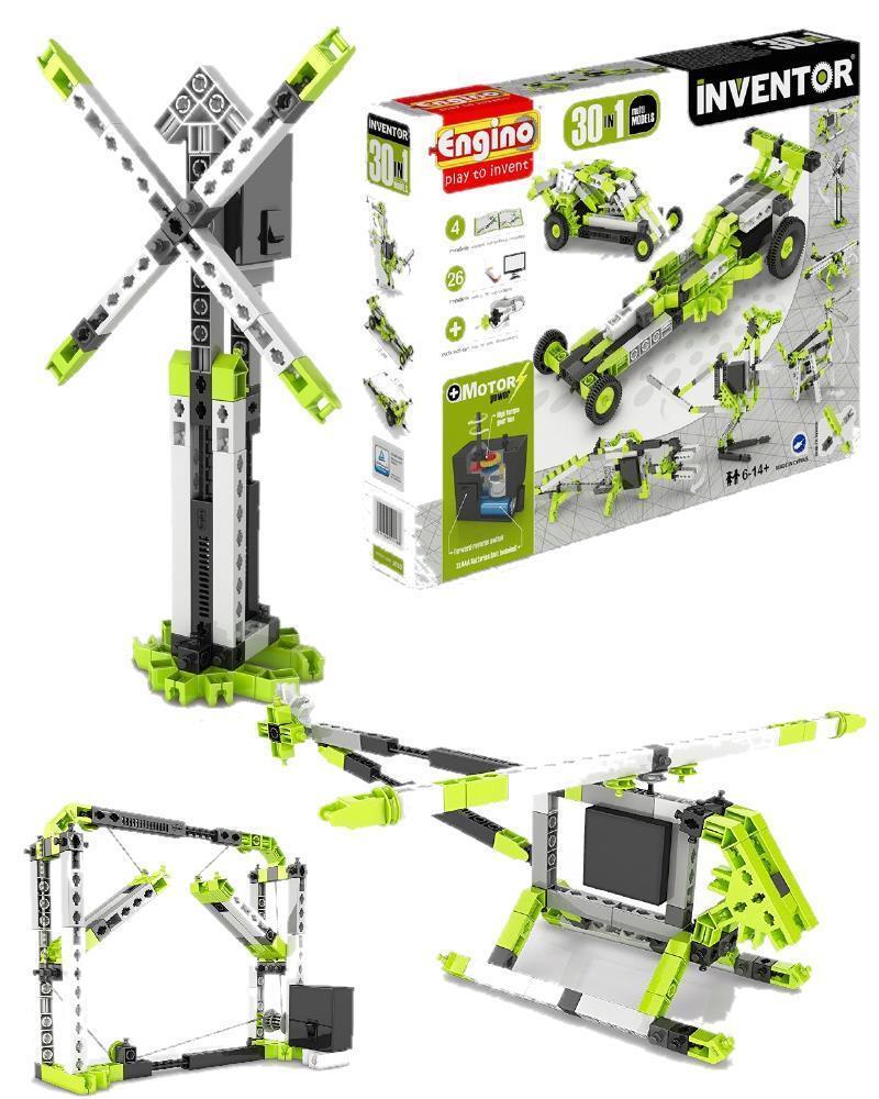 Engino Inventor 30 in 1 modelli motorizzati gioco di costruzioni 03772
